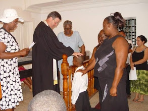 Photo: Baptism at French Harbour Methodist Church #7
