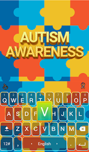 Autism Awareness Keyboard screenshot 1