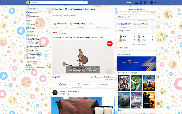 Emoji Theme for Facebook