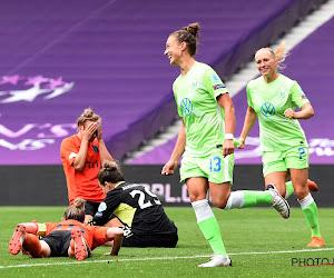 Vrouwenploeg Wolfsburg doet nóg straffer dan Bayern München tegen Barcelona in kwartfinale Champions League