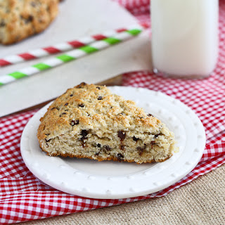 Low-Fat Scones Recipe with Chocolate & Crystallized Ginger