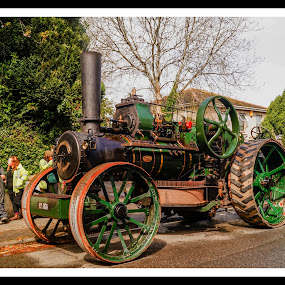 The Ploughing Engine by Cornish Nige  - Transportation Roads ( farming, heavy metal, steam, history, ploughing engine )