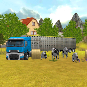 Farm Truck 3D: Cow Transport