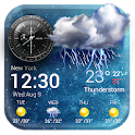 Accurate Weather forecast app& widget☂ icon