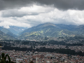 Photo: Hills above Cuenca