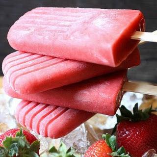 Strawberry Popsicles Recipe