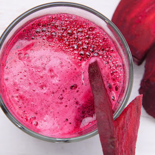 Beautifying Beet Melon Smoothie