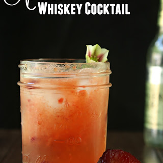 Apricot Whiskey Smash Cocktail Recipe