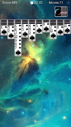Spider Solitaire - لقطات شاشة مجانية لألعاب الورق Solitaire Fun 6