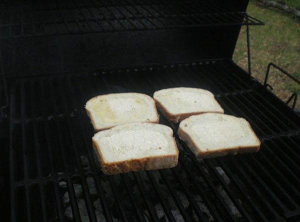 Grill until light grill marks form.  You don't want to over grill and...