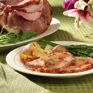 Roasted Ham Saltimbocca.