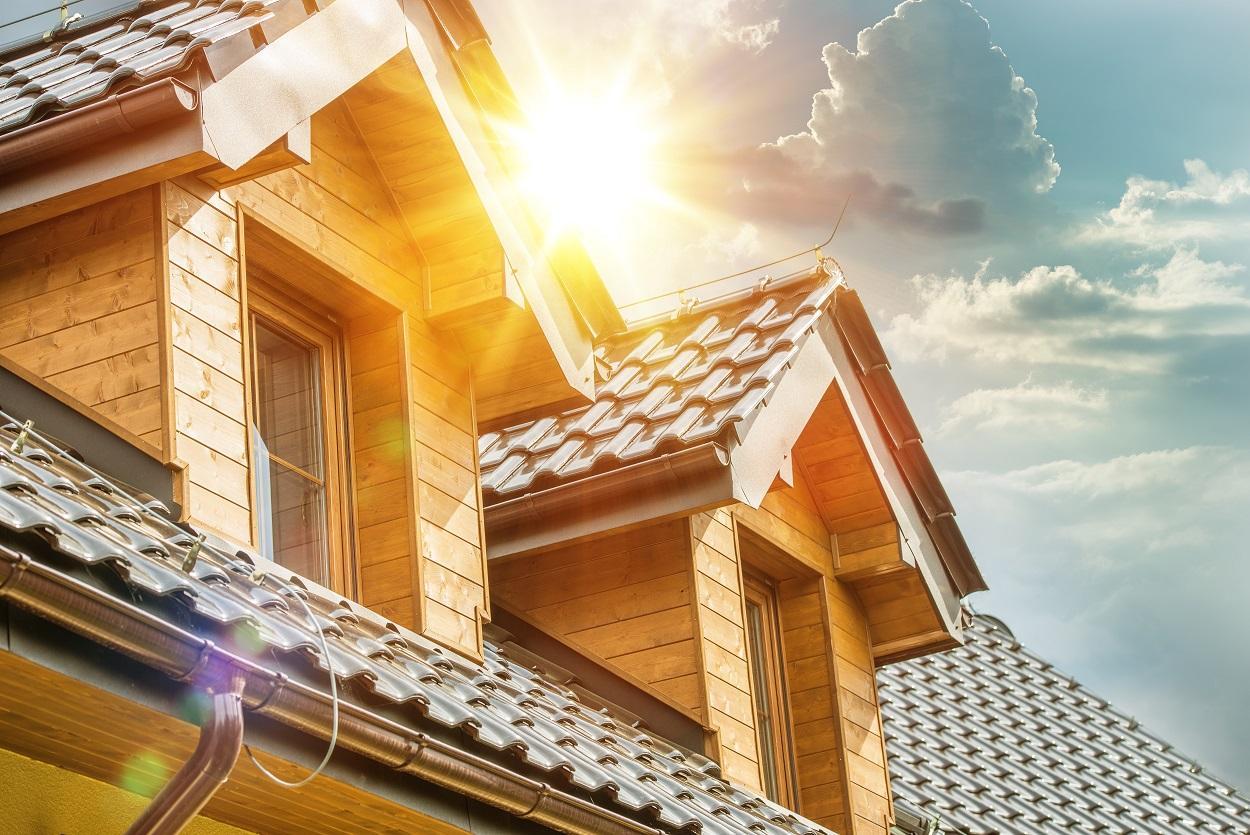 Chống nóng là lý do chính khiến nhiều gia chủ lợp mái tôn cho sân thượng