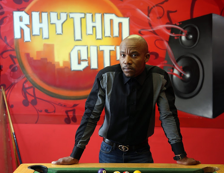 January 11 2017. Rhythm City actor Mduduzi Mabaso is not like his character Suffocate – he's a family man.