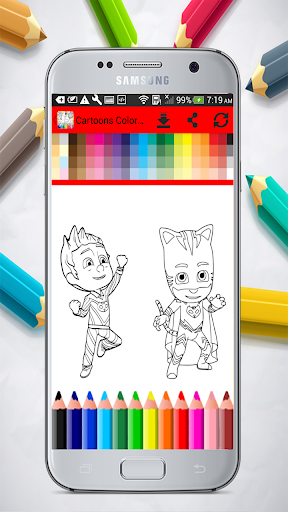 Cartoons Coloring Pages 1.01.0 screenshots 5
