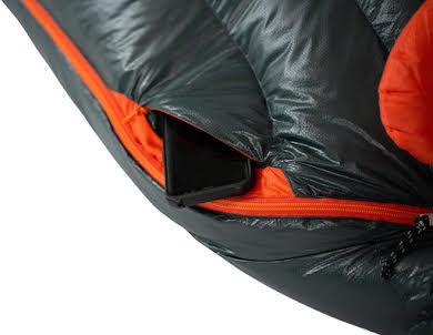 NEMO Riff 15 Men's Sleeping Bag - 800 Fill, Long, Ember Red/Deep Water alternate image 0