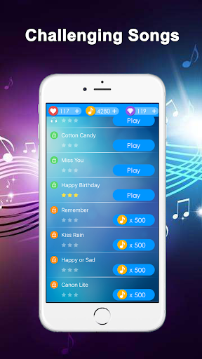 Happy Piano - Magic Tiles Screenshot
