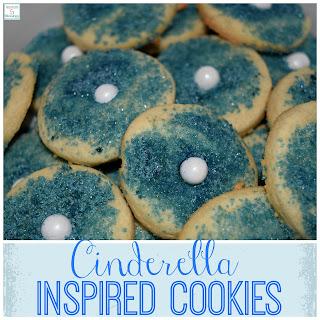 Cinderella Inspired Cookies.