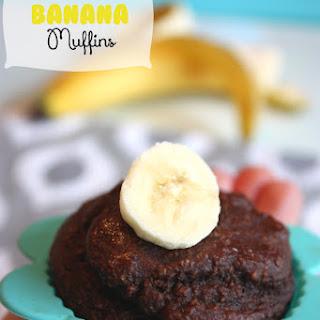 Cocoa Banana Muffins.