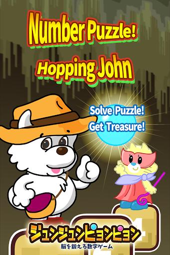 Number Puzzle Hoppin John Kids