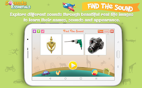 Sounds Essentials - Learn and Identify Sounds Screenshot