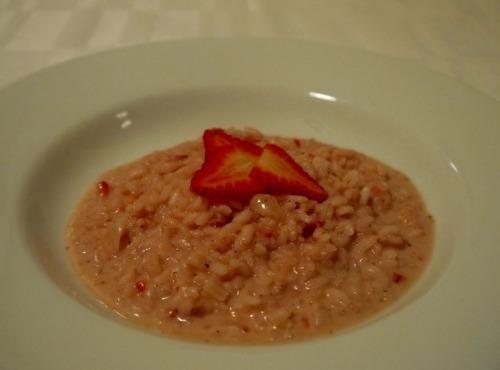 Savory Strawberry Risotto Recipe