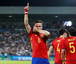 Saul Niguez envoie la petite Roja en finale de l'Euro U21