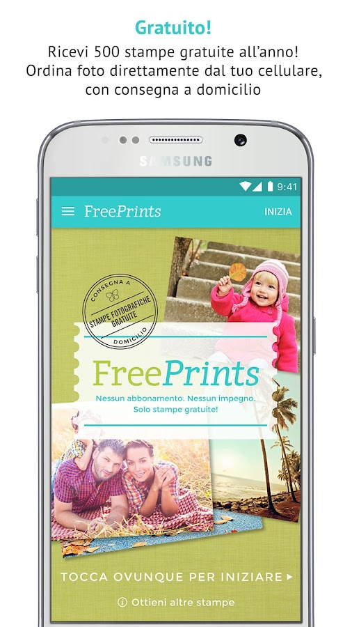 FreePrints - Stampe gratuite- screenshot