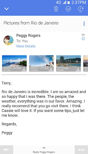 TypeApp mail - email app 1.9.6.13 screenshots 2