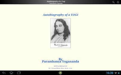 Autobiography of a Yogi APK screenshot thumbnail 3