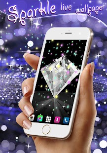 Sparkle live wallpaper android apps on google play sparkle live wallpaper screenshot thumbnail voltagebd Images