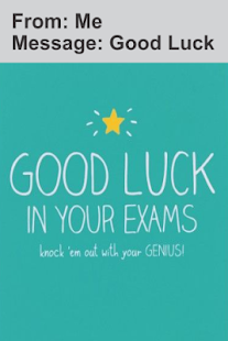 Good luck exam greetings apps on google play screenshot image m4hsunfo
