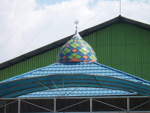 Photo: Kubah Masjid Pertamina Jl. Nilam Barat Surabaya