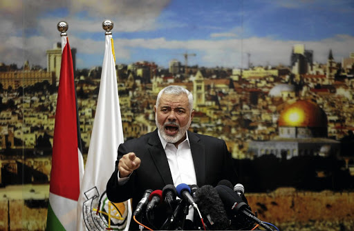 Hamas chief Ismail Haniyeh. Picture: REUTERS