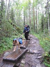 Photo: Geweldig als je met je trouwe viervoeter kan gaan hiken. :-)