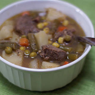 Beef Stew with Cider and Cinnamon