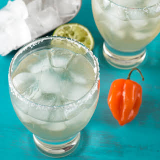 Habanero Margarita + Habanero Infused Tequila.