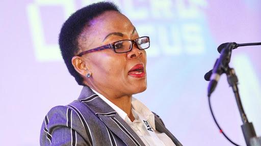 Deputy communications minister Pinky Kekana.