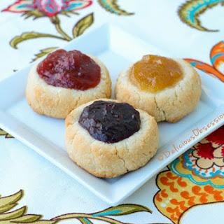 Jam-Filled Thumbprint Cookies (gluten, dairy, nut, egg free, autoimmune paleo)