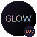 [UX7] Glow Theme for LG G7 V35 icon