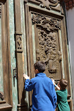 Photo: This old church and monastery still had these hand carved doors.
