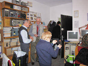 Photo: Na spotkaniu z okazji 40-lecia licencji nadawczej Adama SP6EBK. Klub SP6PRT - 16 października 2009 r.