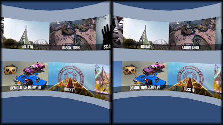 VR Thrills: Roller Coaster 360 (Google Cardboard) APK screenshot thumbnail 9