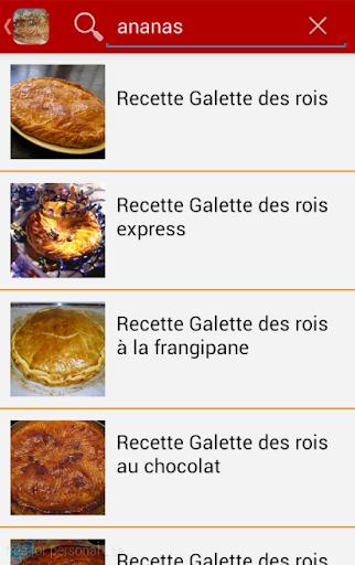 download recette galette des rois for pc. Black Bedroom Furniture Sets. Home Design Ideas