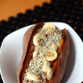 Banana, Almond Butter, Sweet Potato Breakfast Recipe