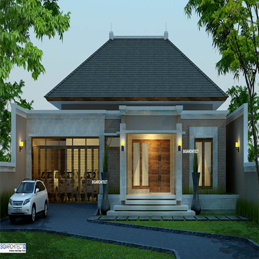 desain rumah lantai 1