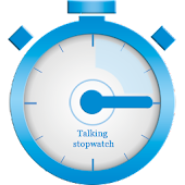 Talking stopwatch