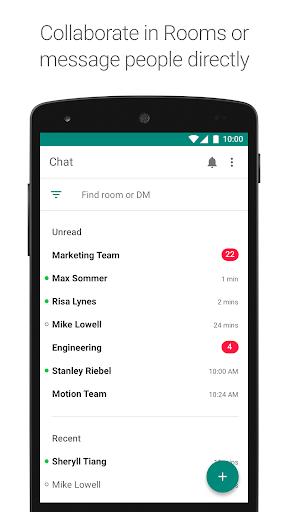 Hangouts Chat screenshot 1