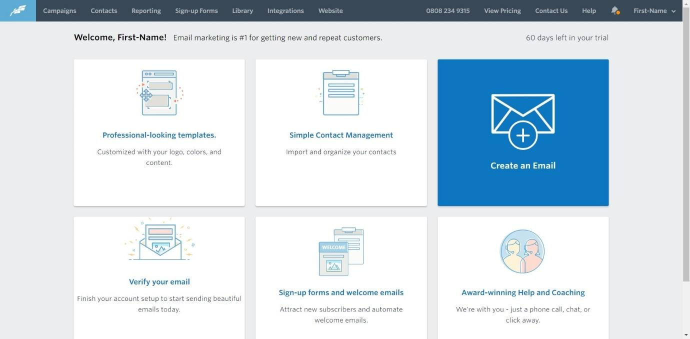 constant contact email builder