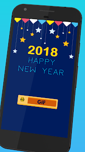 New Year GIF 2018 - náhled