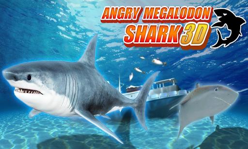 憤怒的巨齒鯊3D